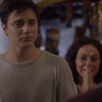 """Novela """"Malhação"""": Jeff (Cadu Libonati) é expulso de casa depois de insistir em dançar!"""