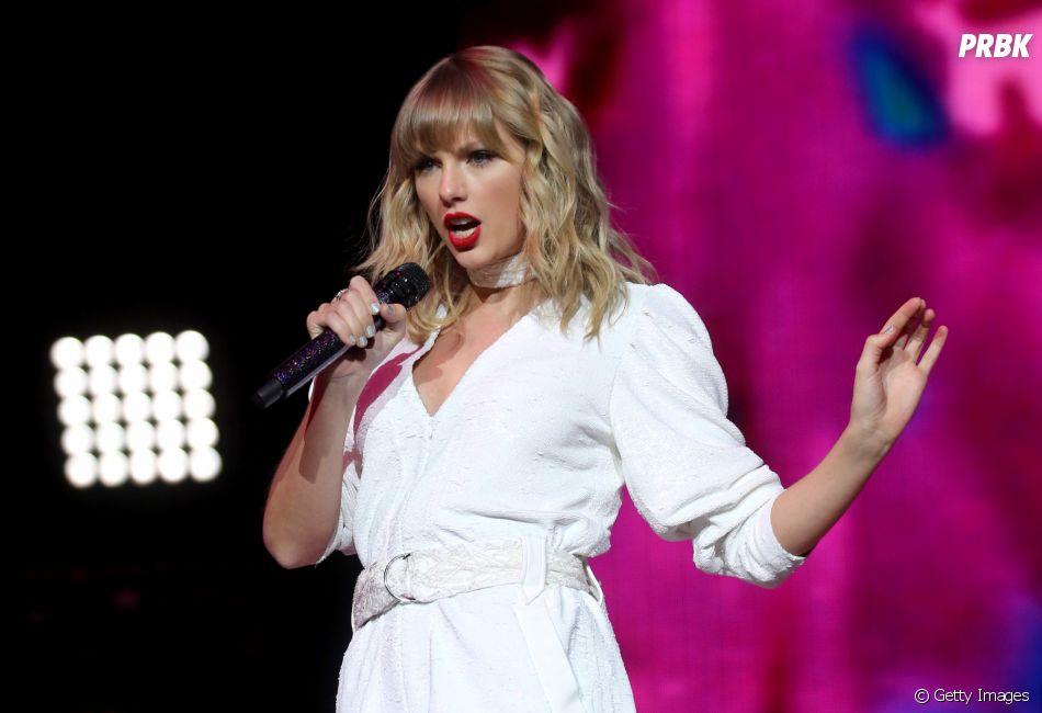Enquanto não relança todos os álbuns, Taylor Swift aposta em parcerias