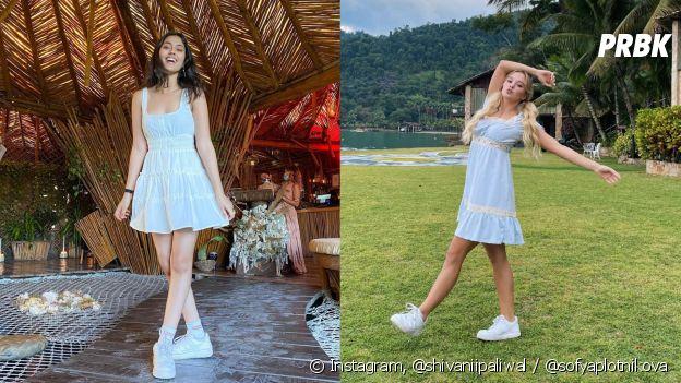 Shivani e Sofya do Now United: qual vestido tem mais a ver com você?