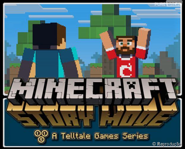 """""""Minecraft: Story Mode"""" é um jogo baseado na franquia e produzido pela Telltale"""