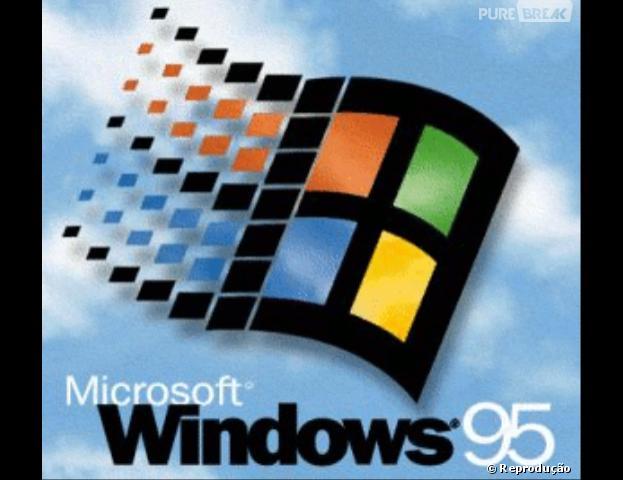 OWindows 95 tinha suporte a conexão dial-up e marcou a chegada da Era daInternet.