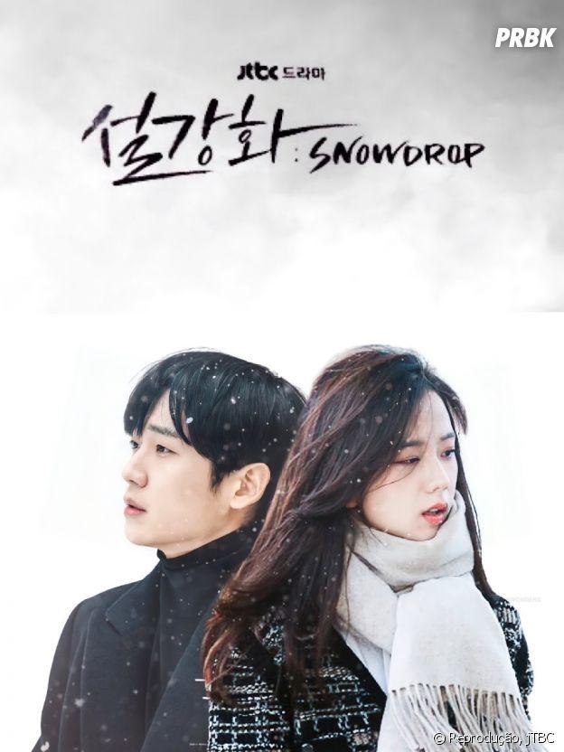 """Jisoo, do BLACKPINK, estrela K-drama """"Snowdrop"""""""