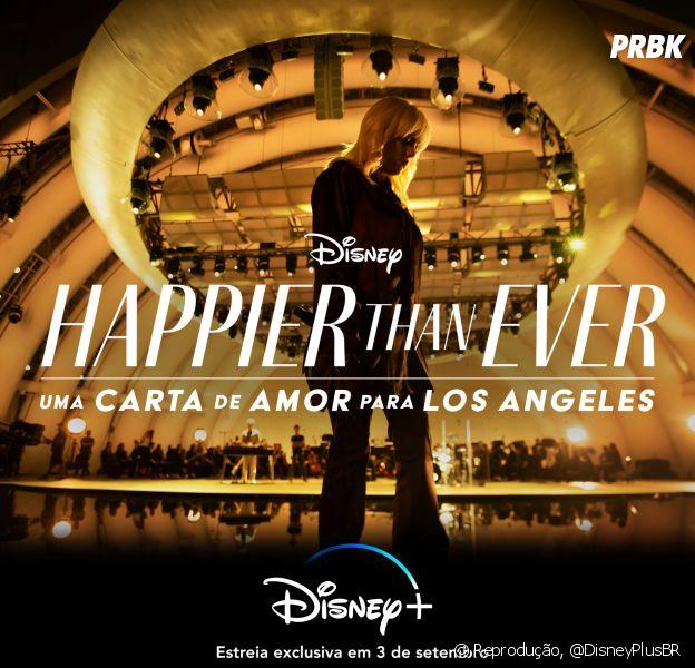 Billie Eilish anuncia show virtual do seu segundo álbum para o Disney+ em setembro