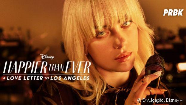 "Billie Eilish: ""Happier Than Ever: a Love Letter to Los Angeles"" estreia em 3 de setembro no Disney+"