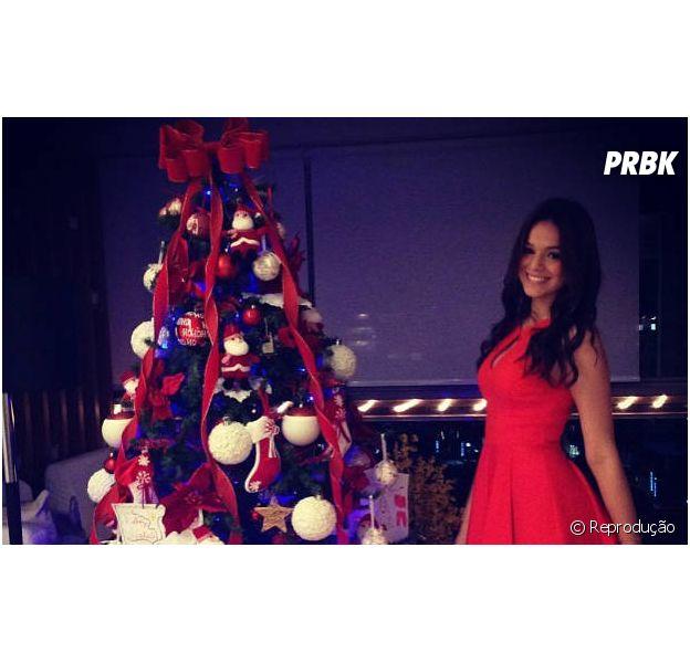 Espírito de solidariedade toma conta do coração de Bruna Marquezine no Natal
