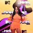 MTV Miaw 2021: a influenciadora Cristal Felix de look com transparência Diva Atelie