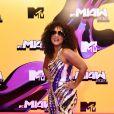 MTV Miaw 2021: Luiza Brasil de Emilio Pucci e sandálias René Caovilla