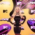 MTV Miaw 2021: Pabllo Vittar de NφDress, corset Madame Sher, anel Hector Albertazzi, choker JALACONDA e brincos Swarovski