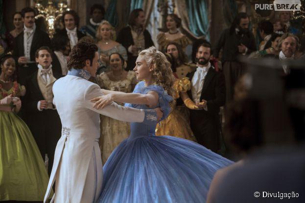 """""""Cinderela"""" conda com Lily James (""""Downton Abbey"""") e Richard Madden (""""Game of Thrones"""") no elenco"""