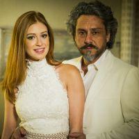 """Marina Ruy Barbosa é elogiada por Alexandre Nero: """"É uma mulher linda, inteligente pra caramba"""""""