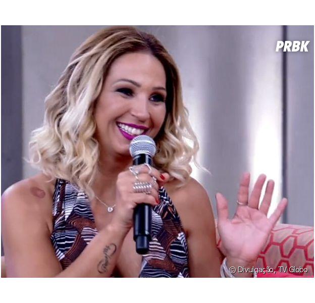 """Valesca Popozuda canta, dança e fala sobre inveja no """"Encontro com Fátima Bernardes"""""""