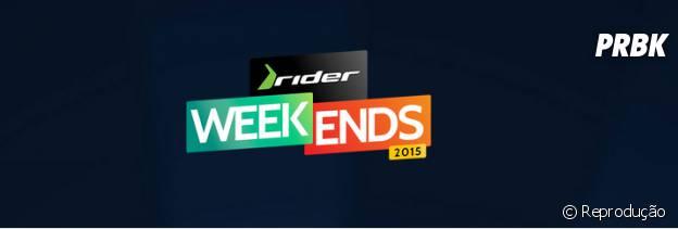 O festival Rider Weekends acontece no Rio de Janeiro, na Marina da Glória