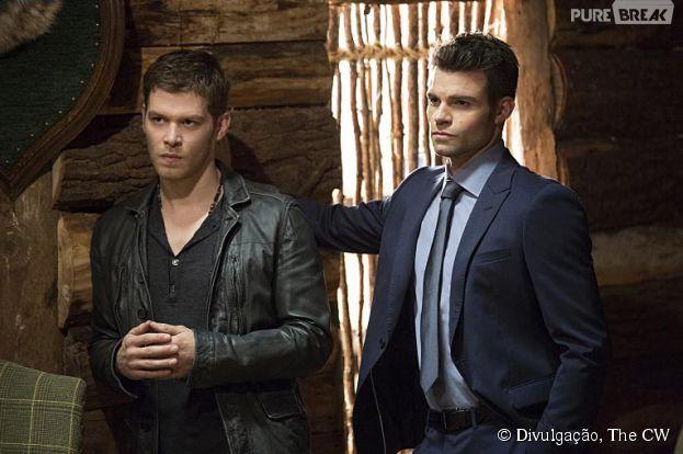 """Em """"The Originals"""", Klaus (Joseph Morgan) e Elijah (Daniel Gillies) são presos"""