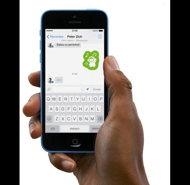Nova interface do Facebook Messenger é parecida a de outros apps de mensagem