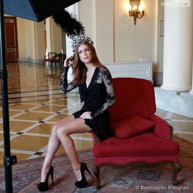Marina Ruy Barbosa, que ama Carnaval, ainda fala sobre ser rainha de bateria e dobaile de Carnaval do Copacabana Palace