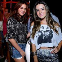 Duelo de looks: Bruna Marquezine ou Giovanna Lancellotti? Quem mandou bem na roupa para a baladinha?