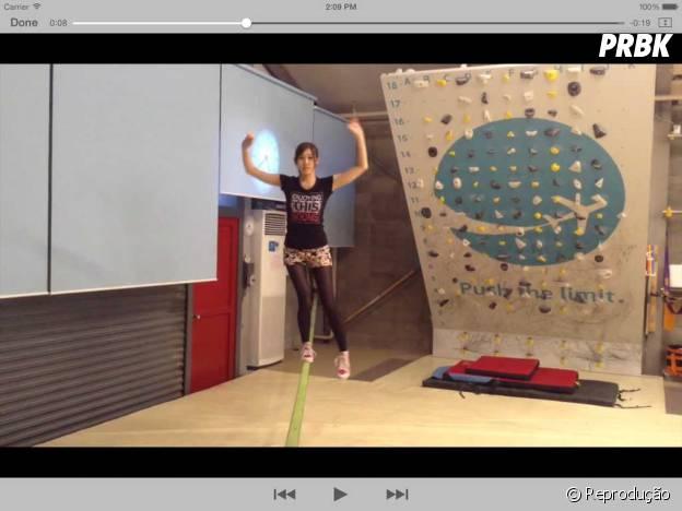 SlacklineTricknotes te ajuda a fazer movimentos sobre o slackline e aprender o passo a passo