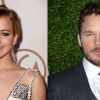 """Jennifer Lawrence e Chris Pratt, de """"Guardiões da Galáxia"""", podem se apaixonar em nova ficção"""