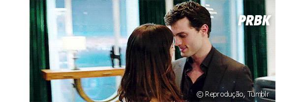 """Christian Grey (Jamie Dornan), de """"Cinquenta Tons de Cinza"""""""