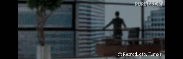 "Christian Grey (Jamie Dornan), de ""Cinquenta Tons de Cinza"", é bem-sucedido"