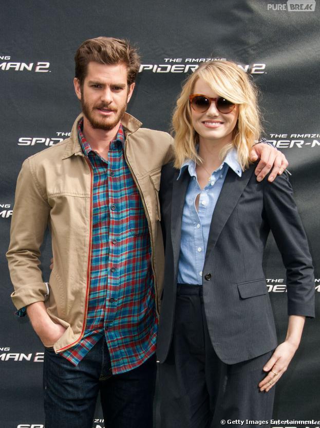 Emma Stone e Andrew Garfield estão juntos desde 2011