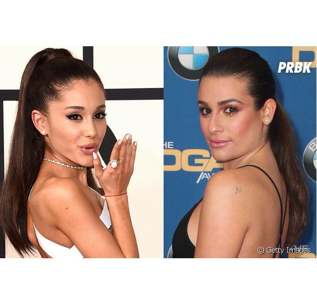 """Barraco? Ariana Grande e Lea Michele, de """"Scream Queens"""", estariam brigando"""
