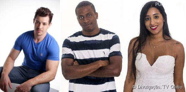"""No """"BBB15"""": Cézar, Luan e Talita estão no 3º paredão triplo do reality da Globo! Quem deve sair?"""