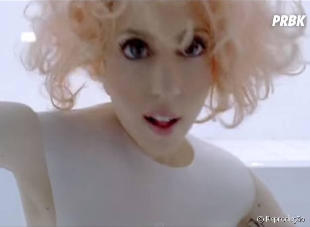 """Como """"American Horror Story"""" ama seres estranhos, que tal Lady Gaga ruiva e com olhos gigantes?"""