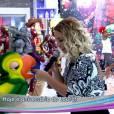 """Valesca Popozuda canta """"Eu Sou a Diva que Você Quer Copiar"""" ao no palco do """"Mais Você"""" com direito a dançarinos e brincadeiras com o aniversariante do dia, Louro José"""