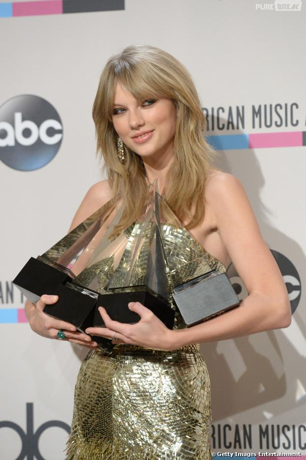 Taylor Swift foi a grande vencedora do American Music Awards 2013