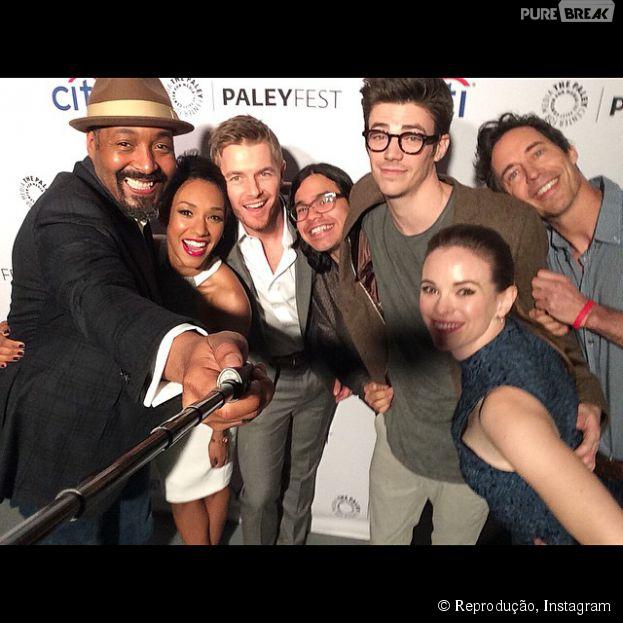 """O elenco de """"The Flash"""" se divertiu em convenção nos EUA!"""