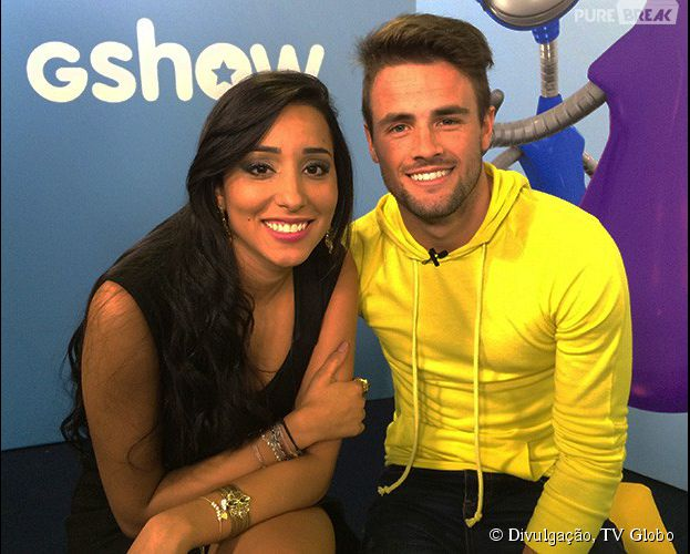 Talita e Rafael BBB 15 (Foto: Divulgação) Globo Big Brother Brasil BBB