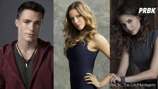 """Ou então Roy (Colton Haynes), Laurel (Katy Cassidy) ou Thea (Willa Holland) são os escolhidos em """"Arrow""""?"""