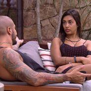 """No """"BBB15"""": Fernando e Amanda armam plano para colocar Cézar e Mariza no Paredão"""