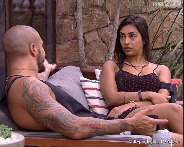 """Fernando e Amanda armam plano para por Cézar e Mariza no Paredão do """"BBB15"""""""
