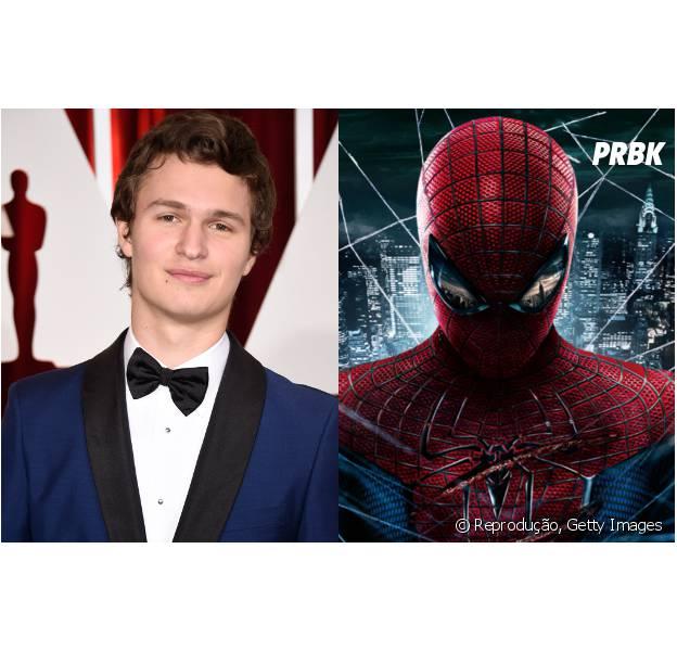 """Ansel Elgort, de """"Insurgente"""", fala sobre Homem-Aranha da Marvel"""