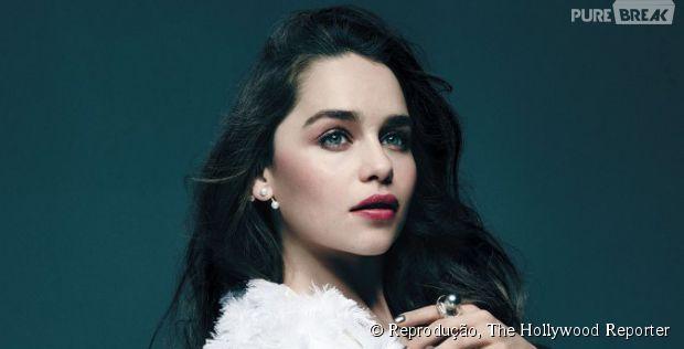 "Emilia Clarke, de ""Game of Thrones"", fala sobre ""Cinquenta Tons de Cinza"""