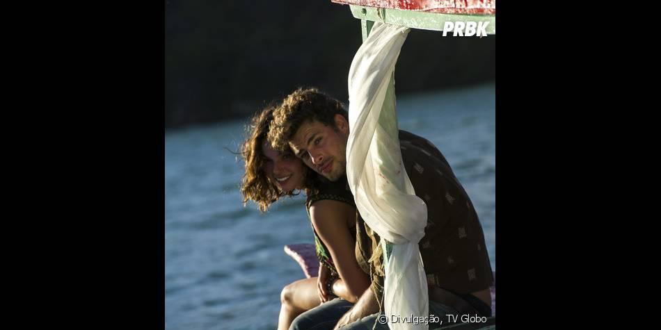"""Antônia (Ísis Valverde) e Leandro (Cauã Reymond) se apaixonam de forma inesperada em """"Amores Roubados"""""""