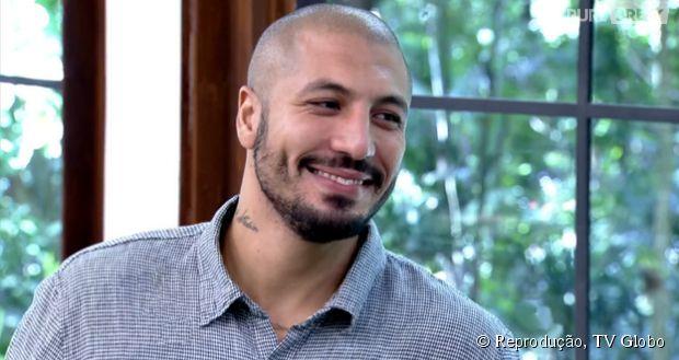 """Fernando, após """"BBB15"""", no """"Mais Você"""", fala sobre Amanda, Aline e Cézar"""