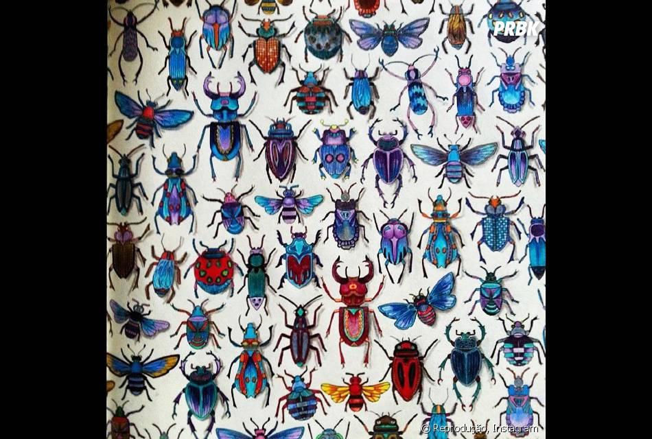 """Até os besouros têm seu lugar ao sol no """"Floresta Encantada"""""""
