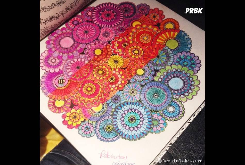 """O """"Floresta Encantada"""" tem várias possibilidades de colorir"""
