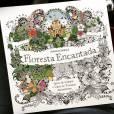 """""""Floresta Encantada"""" é um livro de colorir que está agradando todo mundo"""