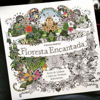 """Livro """"Floresta Encantada"""": Saiba tudo sobre a obra de colorir que está fazendo a cabeça da galera!"""