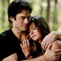 """De """"The Vampire Diaries"""": Elena (Nina Dobrev) e Damon (Ian Somerhalder) e 15 momentos fofos do casal"""