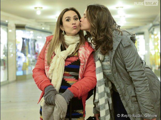 """Tatá Werneck fala sobre amizade com Bruna Marquezine em gravações de """"I Love Paraisópolis"""""""