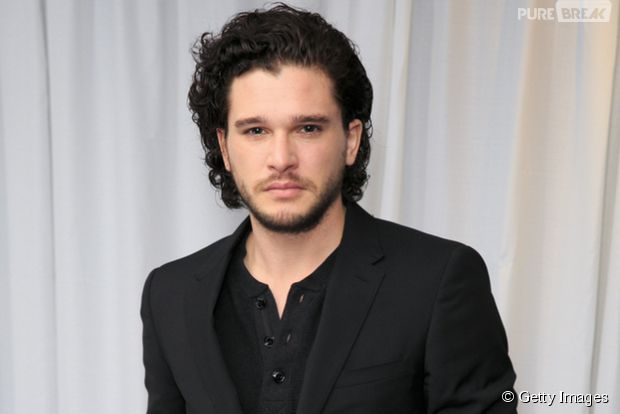 "Kit Harington, de ""Game of Thrones"", comenta fixação de Jon Snow por ruivas"