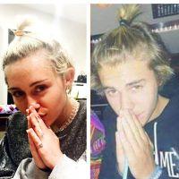 Miley Cyrus sacaneia Justin Bieber e seu rabinho de cavalo em publicação no Instagram