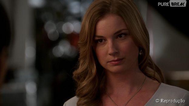 """Em """"Revenge"""", Amanda (Emily VanCamp) está começando a concluir seu plano de vingança"""