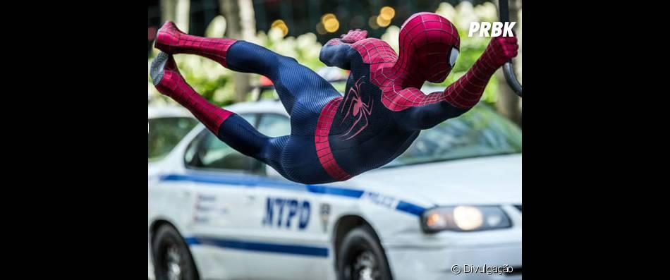 """""""O Espetacular Homem-Aranha 2: A Ameaça de Electro"""" foi lançado em maio de 2014"""