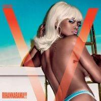 """Rihanna faz topless para a revista V e fala sobre privacidade: """"Não dou a mínima para isso mais"""""""